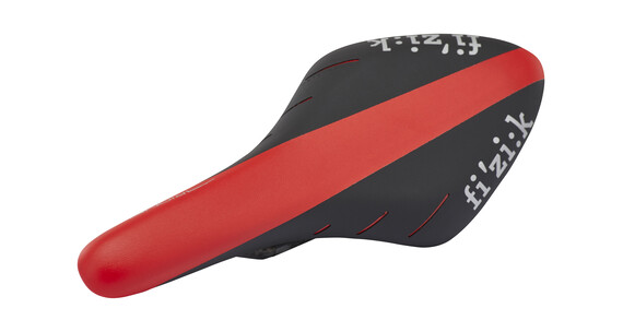 Fizik Arione R3 Braided Sadel rød/sort
